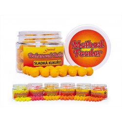 Method Feeder Balanced Boilies 10 mm Moruše - Česnek