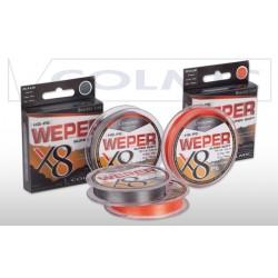 Šňůra WEPER X8 GREY 135m 0,30mm