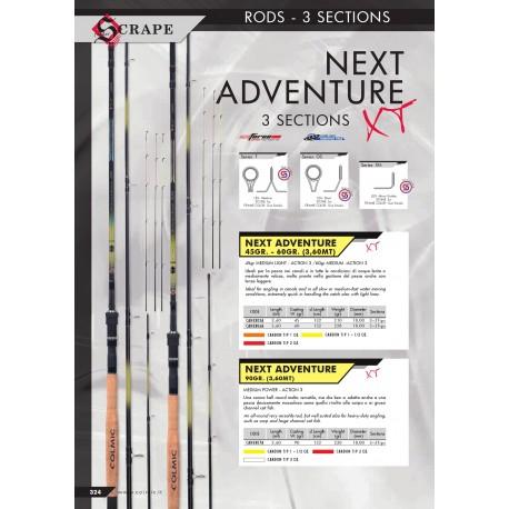 Next Adventure feeder 3-S 3.60m 60gr
