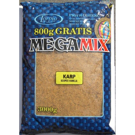 Megamix - Kapr 3kg