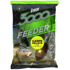 3000 Method Feeder Carpe Pellets 1kg
