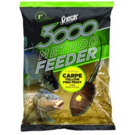 3000 Method Feeder Carpe Yellow 1kg