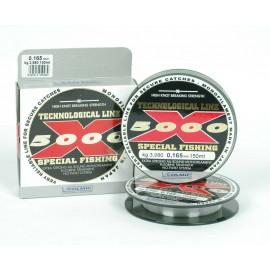 Vlasec X5000 150m 0,10mm 1,38kg